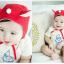 HT170••หมวกเด็ก•• / หมวกนักบิน (สีแดง) thumbnail 3