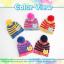 หมวกไหมพรมสำหรับเด็ก หมวกกันหนาวเด็กเล็ก หมวกบีนนี่ลายนกฮูก (มี 5 สี) thumbnail 13