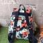 Kipling City Pack S Go Twist ลาย Stripe Quilt K1801454Z thumbnail 8