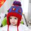หมวกไหมพรมสำหรับเด็ก หมวกกันหนาวเด็กเล็ก ลายน้องหมี (มี 5 สี) thumbnail 7