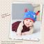 HT402••หมวกเด็ก•• / หมวกบีนนี่-เลขคู่ (สีน้ำเงิน) thumbnail 1
