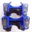 ล้อสเก็ตสวมรองเท้า Flashing Roller ล้อมีไฟ LED ปรับขนาดได้ตามวัย thumbnail 7