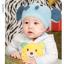 หมวกไหมพรมถักมือ หมวกบีนนี่สำหรับเด็ก ลายช้างน้อย (มี 5 สี) thumbnail 5