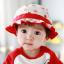 HT479••หมวกเด็ก•• / หมวกปีกกว้าง-กระต่าย (สีแดง) thumbnail 1