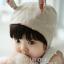 หมวกไพลอท หมวกนักบินมีหูสำหรับเด็ก ลายพื้น ด้านในลายดอกไม้ (มี 2 สี) thumbnail 7