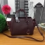 Charles & Keith Structured Trapeze Bag รุ่นหนังคาเวียร์ สีแดงไวน์ thumbnail 5