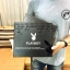 PLAYBOY Leather Belt & Wallet Limited Edition with Box thumbnail 5