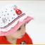 HT489••หมวกเด็ก•• / หมวกปีกกว้าง-Rabbit (สีแดง) thumbnail 4
