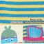 AP127••เซตหมวก+ผ้ากันเปื้อน•• / [สีฟ้า+น้ำเงิน] ปลา thumbnail 4
