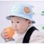 HT471••หมวกเด็ก•• / หมวกปีกกว้าง-นานาผัก (สีฟ้าอ่อน) thumbnail 1
