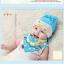 หมวกและผ้ากันเปื้อนเด็กอ่อนผ้ายืด 2 หูยาว แฟชั่นลายสัตว์น้อยสุด Chic thumbnail 6