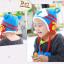 หมวกไหมพรมสำหรับเด็ก หมวกกันหนาวเด็กเล็ก ลายเสือ (มี 5 สี) thumbnail 9