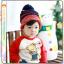 หมวกไหมพรมสำหรับเด็ก หมวกกันหนาวเด็กเล็ก หมวกบีนนี่ลายนกฮูก (มี 5 สี) thumbnail 11
