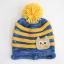 หมวกไหมพรมสำหรับเด็ก หมวกกันหนาวเด็กเล็ก หมวกบีนนี่ลายนกฮูก (มี 5 สี) thumbnail 17