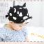 HT317••หมวกเด็ก•• / หมวกแก็ป-ลายวัว (สีดำ) thumbnail 3