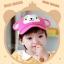 หมวกแก๊ป หมวกเด็กแบบมีปีกด้านหน้า ลายลิงน้อย (มี 3 สี) thumbnail 13
