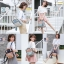 Himawari Canvas and Leather Backpack มีให้เลือกหลายลาย thumbnail 4