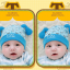 HT425••หมวกเด็ก•• / หมวกบีนนี่-สุนัข (สีฟ้า) thumbnail 2
