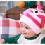 หมวกไหมพรมสำหรับเด็ก หมวกกันหนาวเด็กเล็ก ลายเพนกวิน (มี 6 สี) thumbnail 5