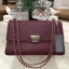 CHARLES & KEITH QUILTED CHAIN SHOULDER BAG หนังคาเวียร์ thumbnail 9