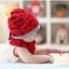 หมวกและผ้ากันเปื้อนเด็กอ่อนผ้ายืด ปีศาจน้อย thumbnail 10