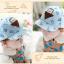 หมวกแก๊ป หมวกเด็กแบบมีปีกด้านหน้า ลายหมีสกรีนสามเหลี่ยม (มี 4 สี) thumbnail 16