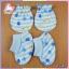 ถุงมือ +ถุงเท้าพับข้อ (แพ็ค 6 เซ็ต) thumbnail 4