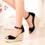 รองเท้าส้นเตารีดไซส์ใหญ่ Scarlette Espadrilles รุ่น KR0051 thumbnail 6