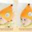 หมวกบีนนี่ หมวกเด็กสวมแบบแนบศีรษะ ลายวันฝนตก (มี 2 สี) thumbnail 4