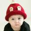 หมวกไหมพรมสำหรับเด็ก หมวกกันหนาวเด็กเล็ก หมวกบีนนี่ สีทูโทน (มี 5 สี) thumbnail 29