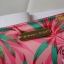 Victoria's Secret Tropical hawaii style satin zip wallet thumbnail 6