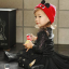HT309••หมวกเด็ก•• / หมวกไหมพรมหูตั้ง (สีแดง) thumbnail 3