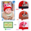 หมวกไหมพรมสำหรับเด็ก หมวกกันหนาว ลายหมี (มี 3 สี) thumbnail 1