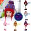 หมวกไหมพรมสำหรับเด็ก หมวกกันหนาวเด็กเล็ก ลายน้องหมี (มี 5 สี) thumbnail 1