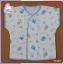 เสื้อเด็กแรกเกิดผูกหน้า แขนสั้น (แพ็คขายส่ง) thumbnail 3