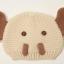 หมวกไหมพรมถักมือ หมวกบีนนี่สำหรับเด็ก ลายช้างน้อย (มี 5 สี) thumbnail 15