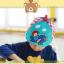 HT520••หมวกเด็ก•• / หมวกเบเร่ต์-ลิงขับเครื่องบิน [สีฟ้า] thumbnail 3