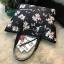 Victoria's Secret Flower Print Shoulder Tote Bag thumbnail 4