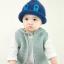 หมวกไหมพรมสำหรับเด็ก หมวกกันหนาวเด็กเล็ก หมวกบีนนี่ สีทูโทน (มี 5 สี) thumbnail 8