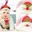 เซตหมวก+ผ้าซับน้ำลาย / ลายหนู (มี 4 สี) thumbnail 4