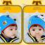 HT444••หมวกเด็ก•• / หมวกบีนนี่-ผีเสื้อ (สีฟ้า) thumbnail 2