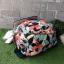 Kipling City Pack S Go Twist ลาย Stripe Quilt K1801454Z thumbnail 5
