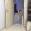 ประตูกั้นบันไดเด็กและสัตว์เลี้ยง โครงเหล็กแข็งแรง ไม่ต้องเจาะผนัง ส่งฟรี thumbnail 7