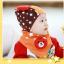 AP105••เซตหมวก+ผ้ากันเปื้อน•• / [สีส้ม] น้องหมี thumbnail 4