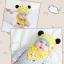 AP211••เซตหมวก+ผ้ากันเปื้อน•• / แพนด้า [สีเหลือง] thumbnail 1
