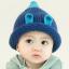หมวกไหมพรมสำหรับเด็ก หมวกกันหนาวเด็กเล็ก หมวกบีนนี่ สีทูโทน (มี 5 สี) thumbnail 28