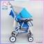 รถเข็นเด็กแบรนด์ natur รุ่น smart 3 สีฟ้า thumbnail 5