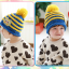 หมวกไหมพรมสำหรับเด็ก หมวกกันหนาวเด็กเล็ก หมวกบีนนี่ลายนกฮูก (มี 5 สี) thumbnail 6