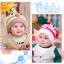 หมวกไหมพรมสำหรับเด็ก หมวกกันหนาวเด็กเล็ก ลายเพนกวิน (มี 6 สี) thumbnail 4