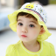 HT487••หมวกเด็ก•• / หมวกปีกกว้าง-Rabbit (สีเหลือง) thumbnail 1